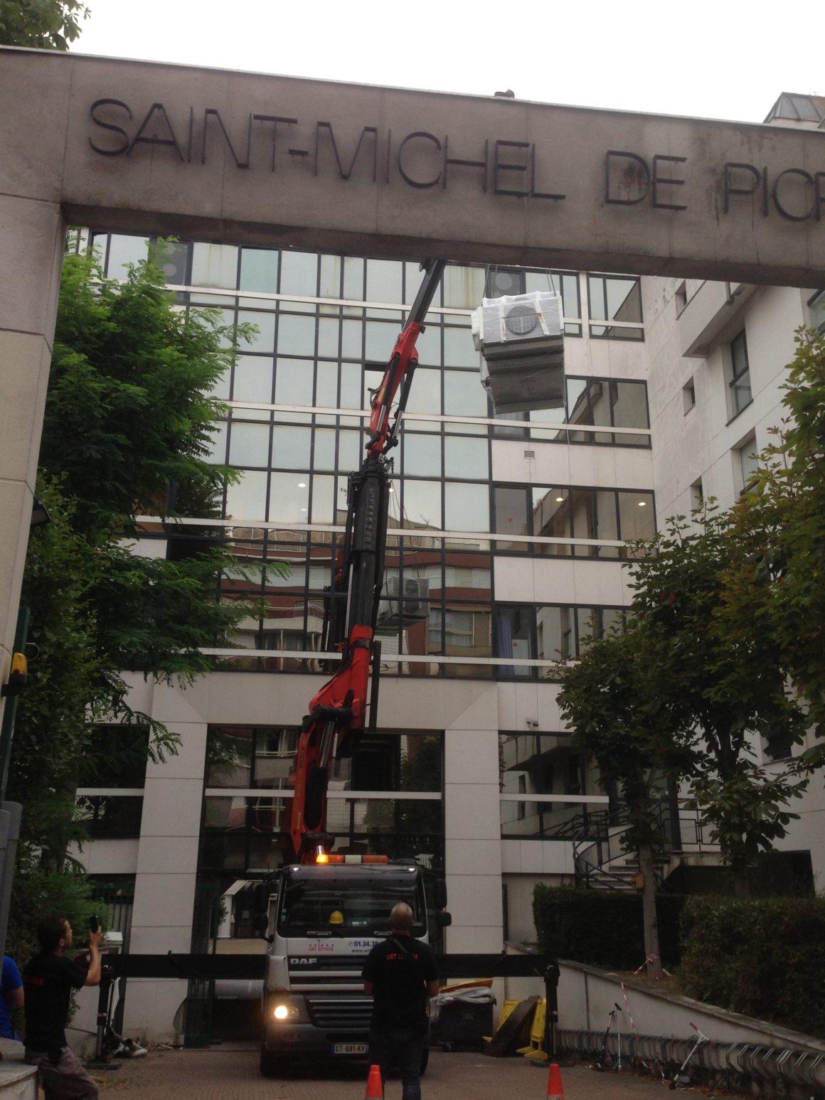 Travaux d'aménagement de bureaux chez Picpus